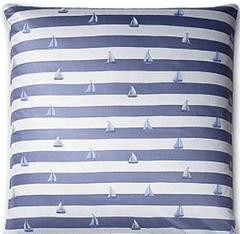 Наволочка 50x70 Elegante Portlane синяя