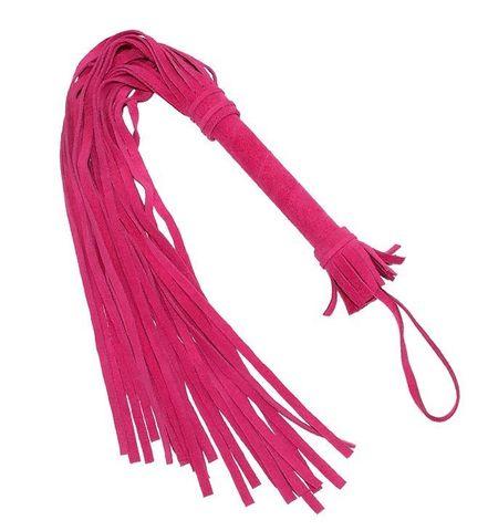 Розовая плеть «Королевский велюр» - 65 см.