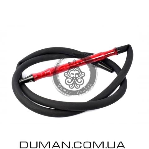 Комплект силиконовый шланг Soft-Touch и мундштук Yahya Smoth Set для кальяна  Red