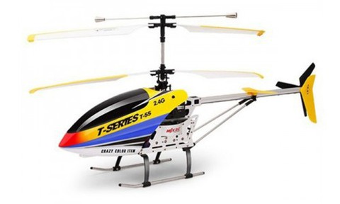 Радиоуправляемый вертолет с видеокамерой MJX i-Heli Thunderbird T55C Camera (T655C)