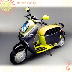 Детский Мотоцикл-Скутер Vip Toys