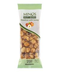 Фундук и мед. Ореховый батончик Candia Nuts 50гр