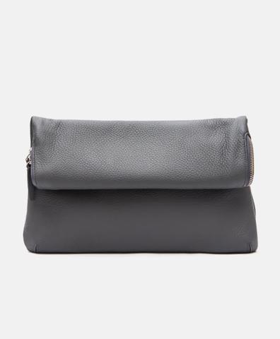 Клатч XL серого цвета