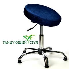 Танцующий офисный стул без спинки хром производство стульев ортопедических для офиса руководителя