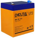 Аккумулятор Delta HR 12-4.5 ( 12V 4,5Ah / 12В 4,5Ач ) - фотография