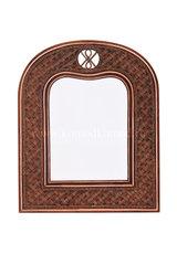 Зеркало  Андреа (Andrea) Вертикальное — античный орех