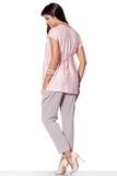 Блузка для беременных 01391 розовый