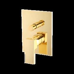 Смеситель Migliore Kvant Gold 25401 для душа встраиваемый с переключателем , золото