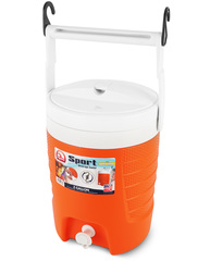 Изотермический пластиковый контейнер Igloo 2 Gal Sport Beverage Orange