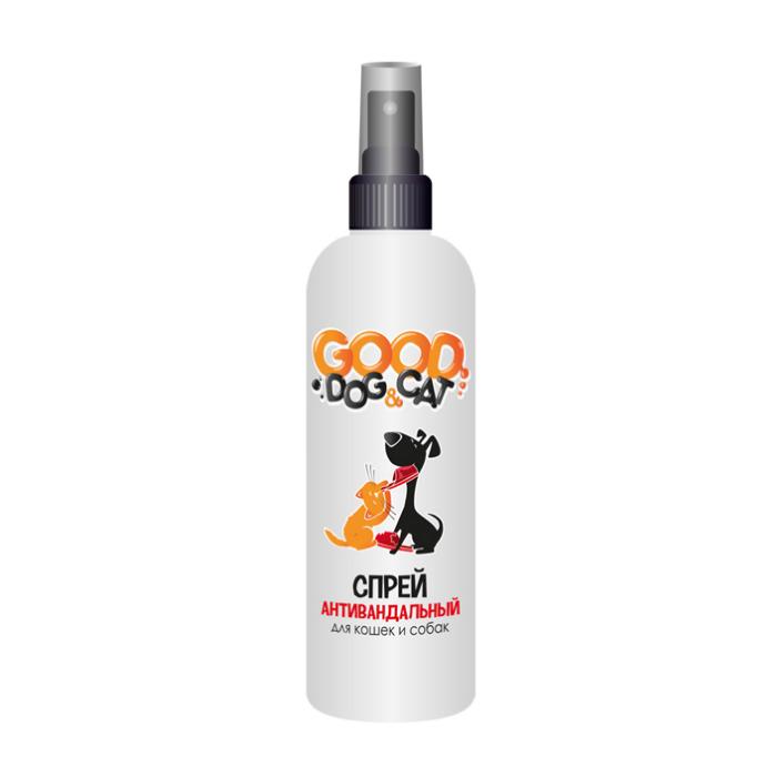 От пятен и запахов Антивандальный спрей для кошек и собак, Good Dog&Cat 14421.jpg
