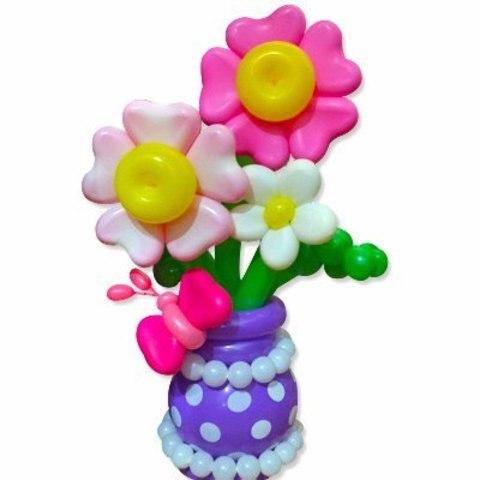 Букет цветов Сердечные цветочки