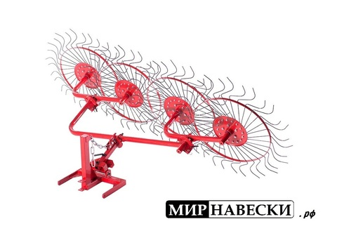 Ворошилка колёсно-пальцевая ВМ-4 усиленная