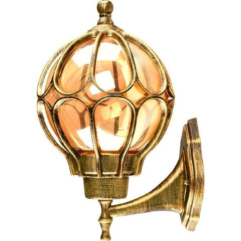 Светильник садово-парковый, 60W 230V E27 IP44 черное золото, PL3801 (Feron)