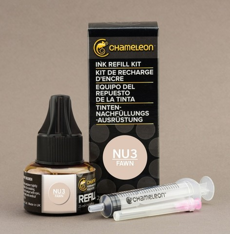 Чернила для маркеров Chameleon палевые NU3, 25 мл