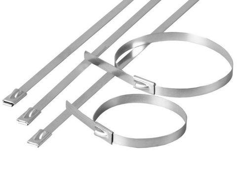 Хомут стальной ХС (304) 4,6х800 (50шт) TDM