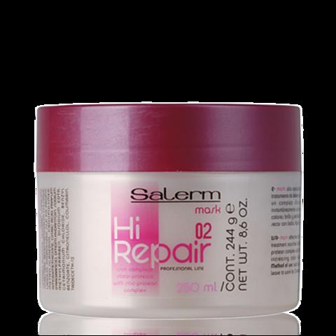 Macка для антивозрастного восстановления структуры волос Hi-Repair,Salerm 250 мл.