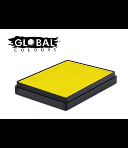Аквагрим Global неоновый желтый 50 гр