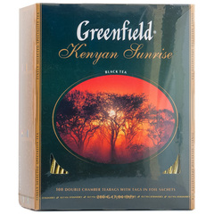 Чай чёрный Greenfield Kenyan Sunrise 100*2г