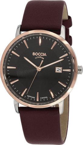 Купить Мужские наручные часы Boccia Titanium 3557-05 по доступной цене