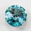 1122 Rivoli Ювелирные стразы Сваровски Light Turquoise (SS39) 8,16-8,41 мм