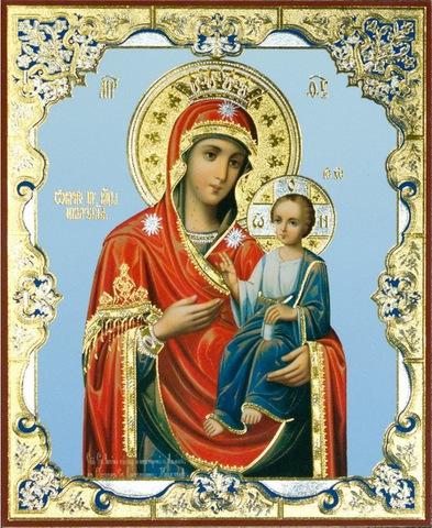 Икона Божией Матери Иверская 3
