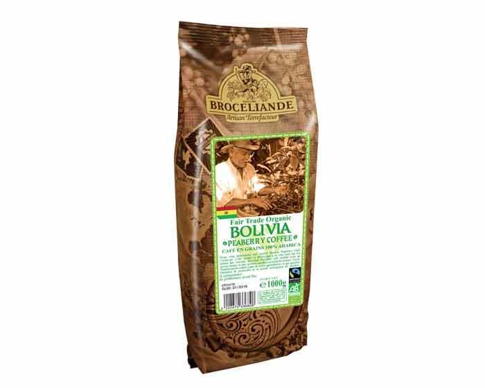 Кофе в зернах Broceliande Bolivia Organic Coffee, 1 кг