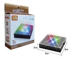 Lighting display box blocks Bricks