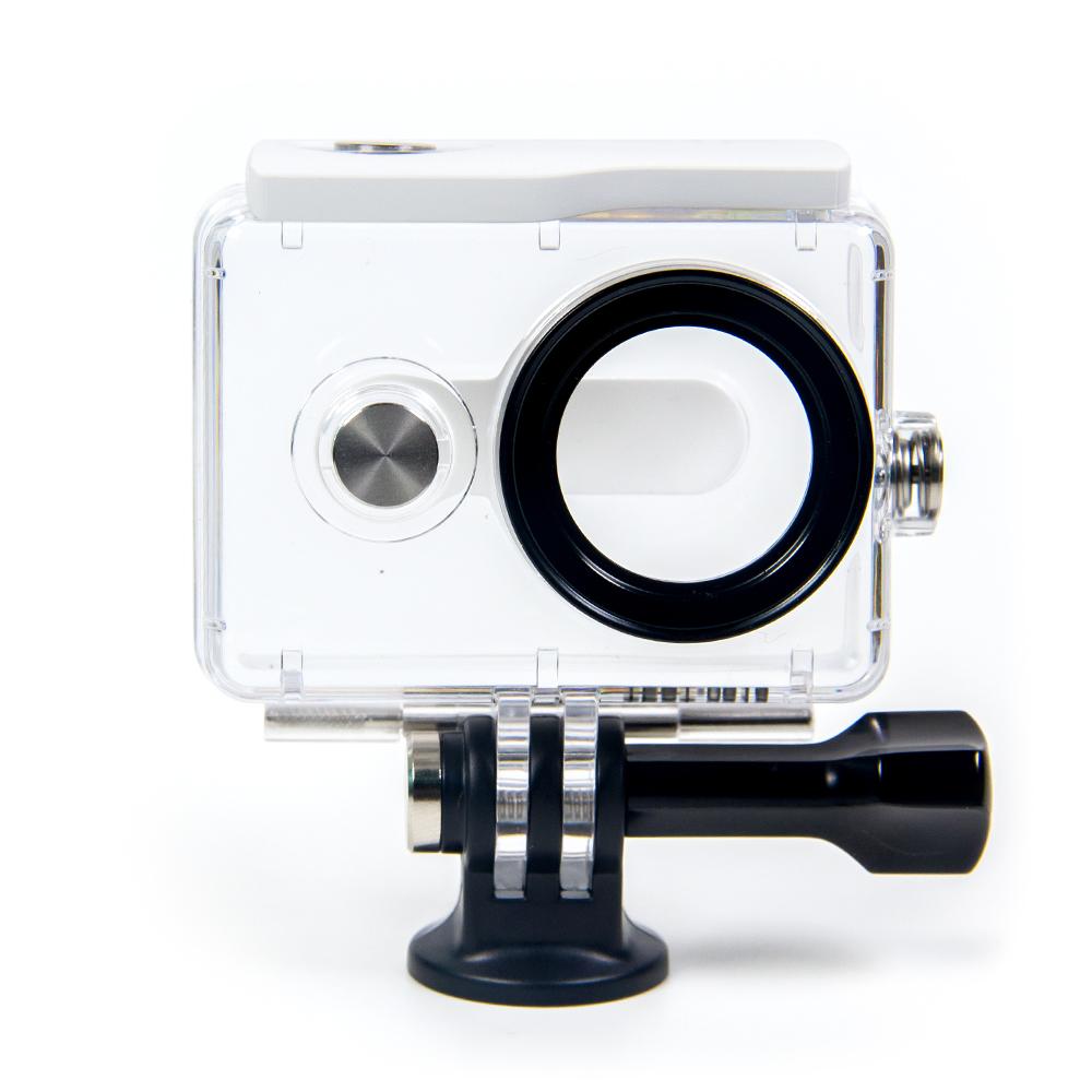 Аквабокс для Xiaomi Yi Action Camera (белый)