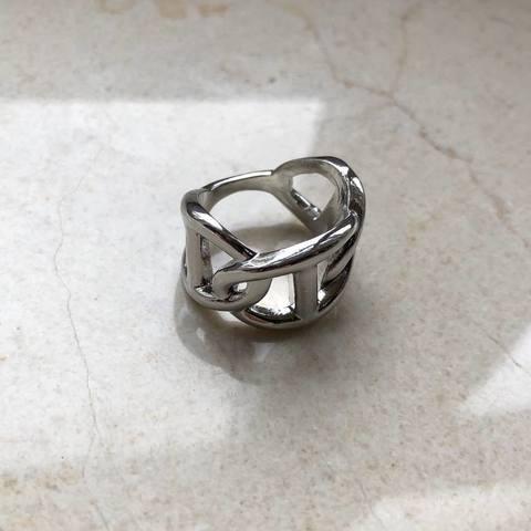 Кольцо Рамти, серебряный цвет