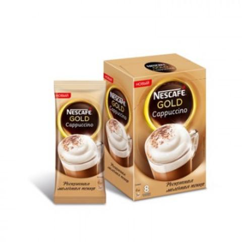 Кофе Nescafe Gold Capuccino раств. порционный 8шт/уп.