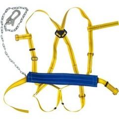 Привязь удерживающая УСП 2ГЖ (ПП 2ГЖ) наплечные набедренные лямки цепь