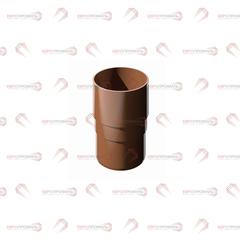 Муфта трубы водосточной - Verat