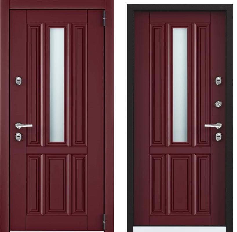 Входные двери Torex Snegir Cottege 01 SNG-1 бордовый SNG-1 бордовый generated_image-5.jpg