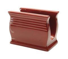 Подставка под салфетки Blonder Home Red Glazed Pottery
