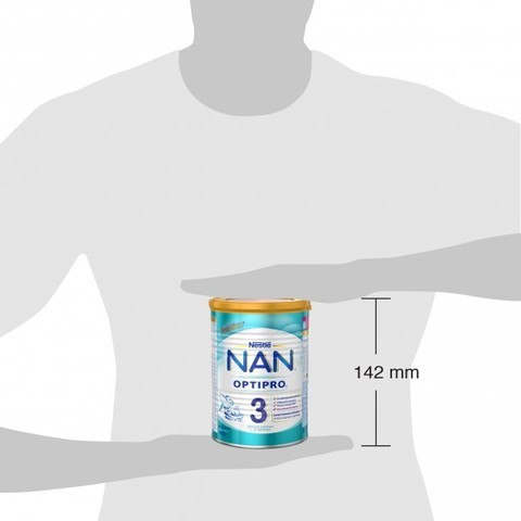 NAN® 3 OPTIPRO®  Детское молочко с 12 месяцев 400гр