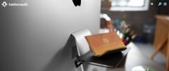 Универсальная небольшая полка Twelve South BackPack для iMac (крепится на ножке). Цвет черный
