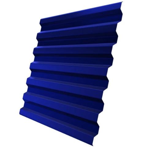 Профнастил С21х1051 мм RAL 5002 Синий ультра