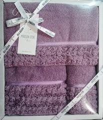 Набор полотенец  3 предмета ROSA -РОСА / Maison Dor (Турция)