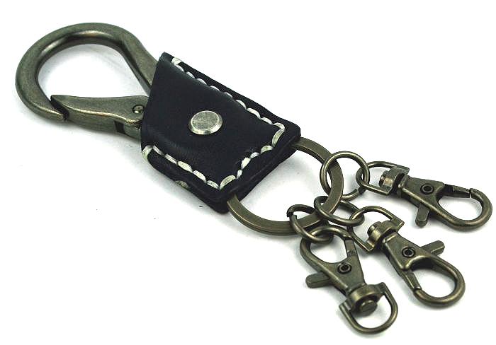 Мужской брелок для ключей с карабином