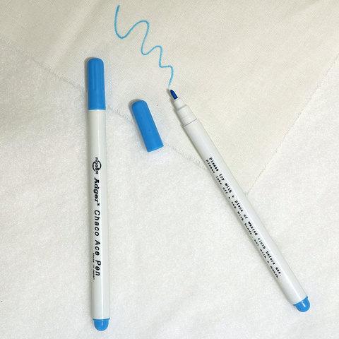 Водорастворимый маркер голубой