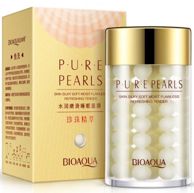 Bioaqua Крем для лица с жемчугом Pure Pearls Cream, 60 г