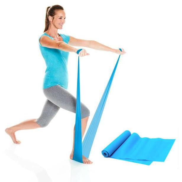 Лента для фитнеса Atom Sports, уровень сопротивления