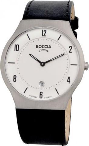 Купить Мужские наручные часы Boccia Titanium 3559-01 по доступной цене