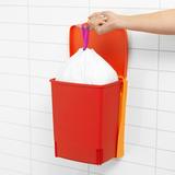 Встраиваемый мусорный бак (10 л), Красный, арт. 482267 - превью 5