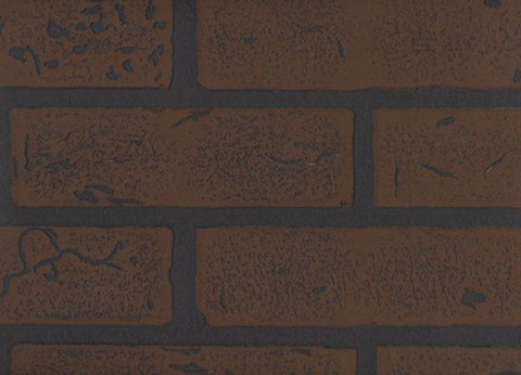 Листовая панель МДФ Акватон Кирпич Темно - коричневый 2440х1220 мм