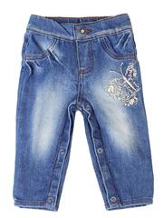 GJN001102 джинсы для девочек, медиум
