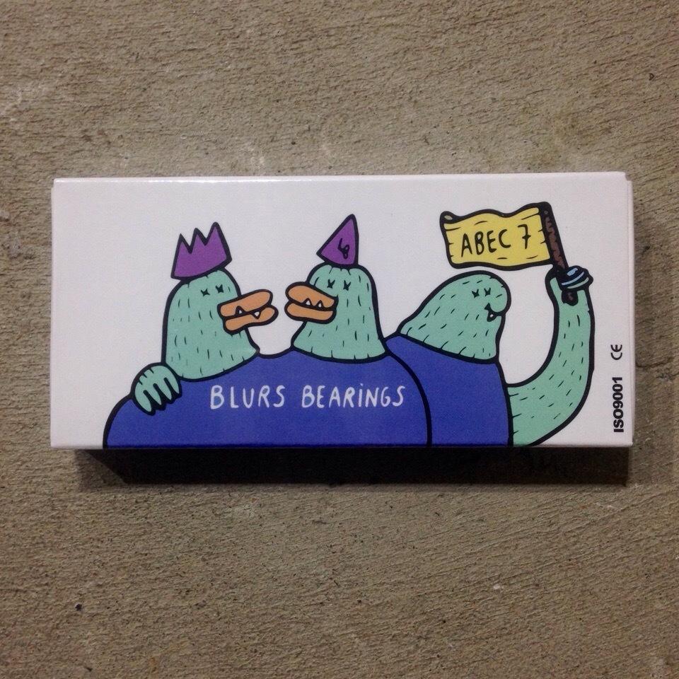 Подшипники Blurs Abec-7