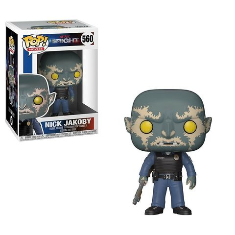 Фигурка Funko POP! Vinyl: Bright S1: Nick Jakoby w/ Gun 27381