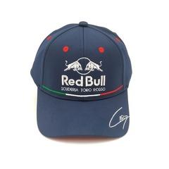 Кепка с вышитым логотипом Астон Мартин Ред Булл Формула 1 (Бейсболка Aston Martin Red Bull scuderia toro Rosso F1) темно-синяя
