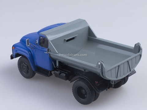 ZIL-MMZ-555 Tipper late 1979 blue-gray 1:43 AutoHistory